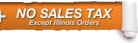 Tax-Free Chain Saws Dealer - Excludes Illinois