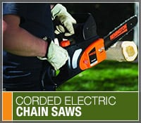 Best Corded Electric Chainsaws