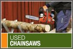 Where to Buy Used Chain Saws