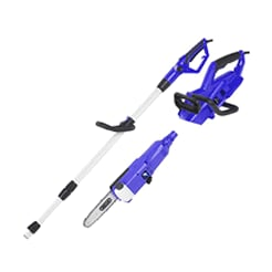 Electric Blue Max Chainsaws