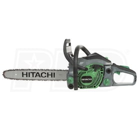 "Hitachi (16"") 32cc Rear Handle Gas Chainsaw"