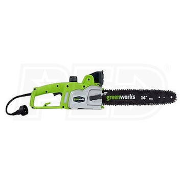 Greenworks 20012 14 inch 9 amp electric chain saw greentooth Gallery