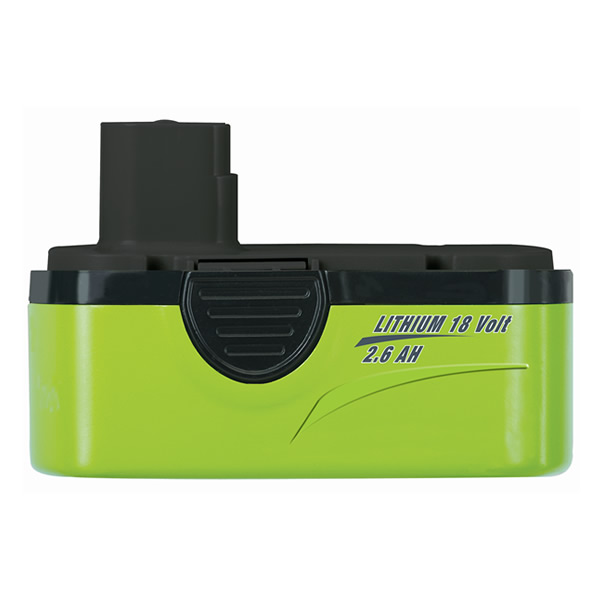 Earthwise 18-Volt 2.6Ah Lithium-Ion Battery