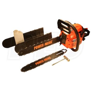 "PowerKing 14"" & 18"" Combination 40cc Gas Chainsaw"