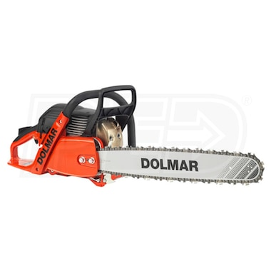 "Dolmar (18"") 61cc Professional Gas Chain Saw, 3/8"" - .050"""